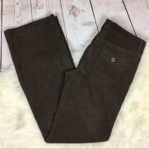 J. Crew Low Fit Flap Pockets Flare Leg Corduroy